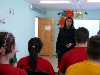 Сотрудники наркоконтроля МВД по Республике Башкортостан и волонтеры посетили реабилитационный центр для несовершеннолетних